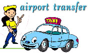 airport transfer - taxi or 7 seater van